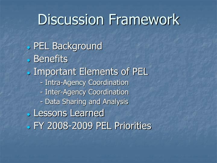 Discussion Framework