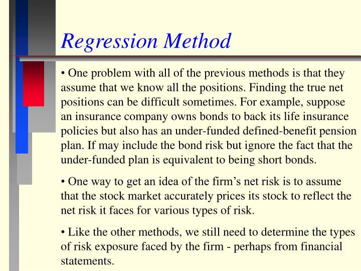 Regression Method