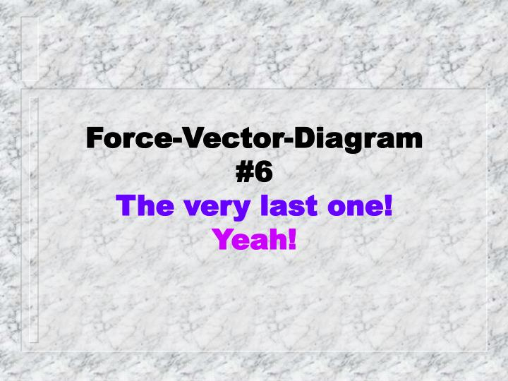 Force-Vector-Diagram #6