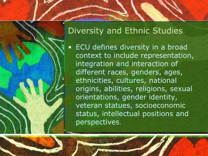 Diversity and Ethnic Studies