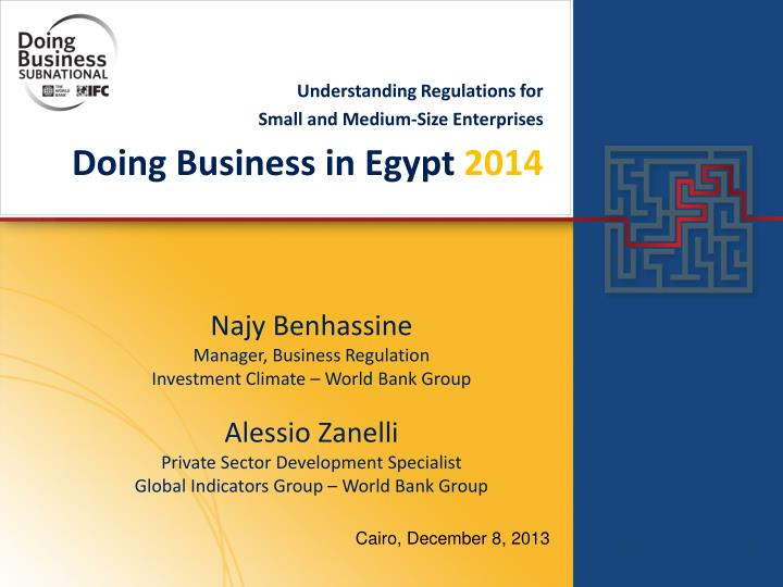 doing business in egypt 2014