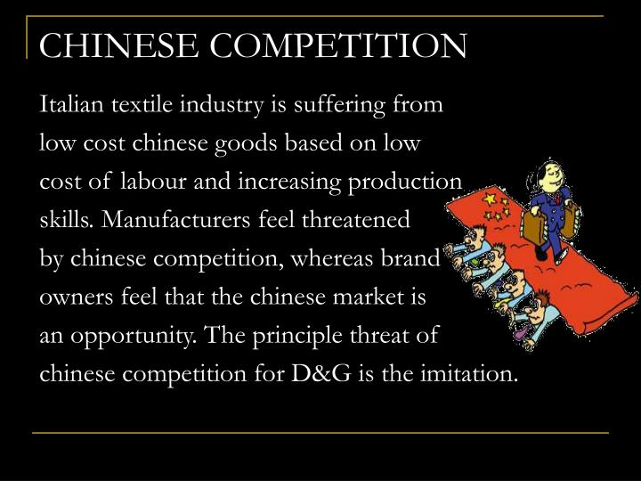 CHINESE COMPETITION