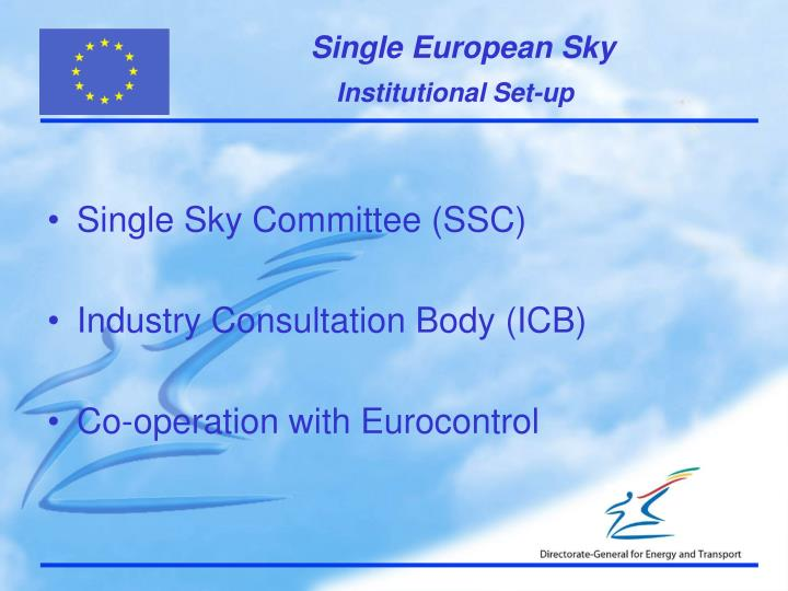 Single Sky Committee (SSC)