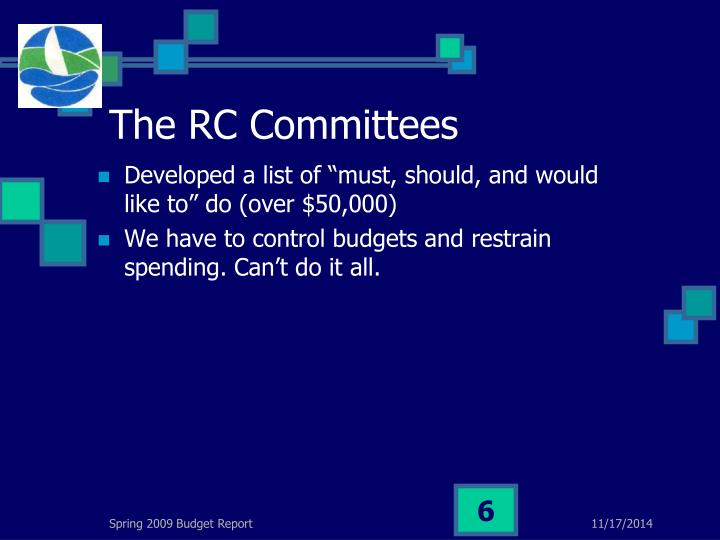The RC Committees