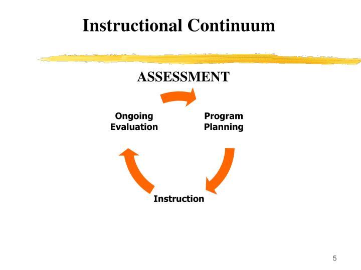 Instructional Continuum