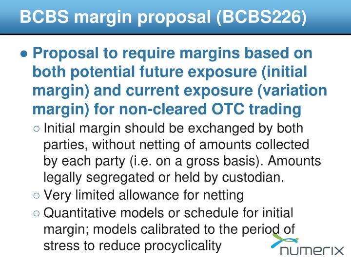 BCBS margin