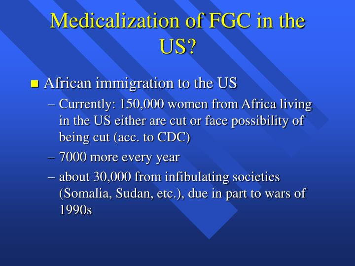 Medicalization of FGC in the US?