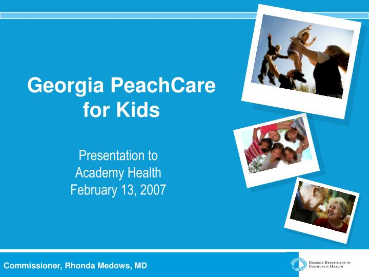 georgia peachcare for kids