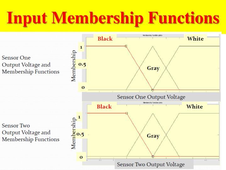Input Membership Functions