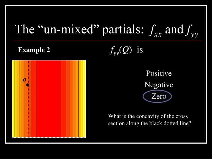 """The """"un-mixed"""" partials:"""