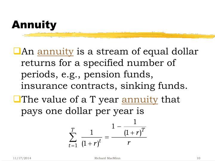 Annuity