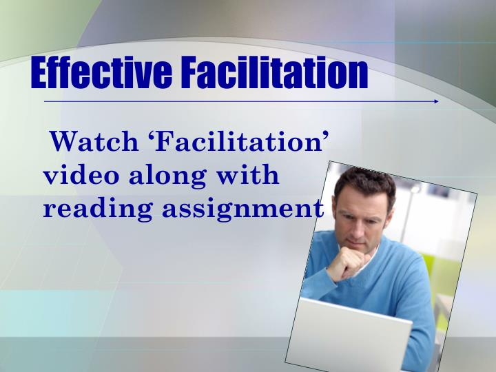 Effective Facilitation