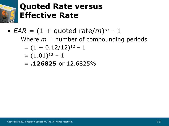 Quoted Rate versus