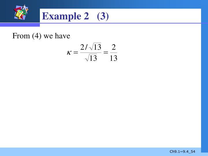 Example 2   (3)