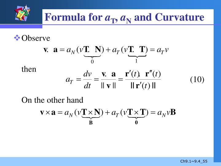 Formula for