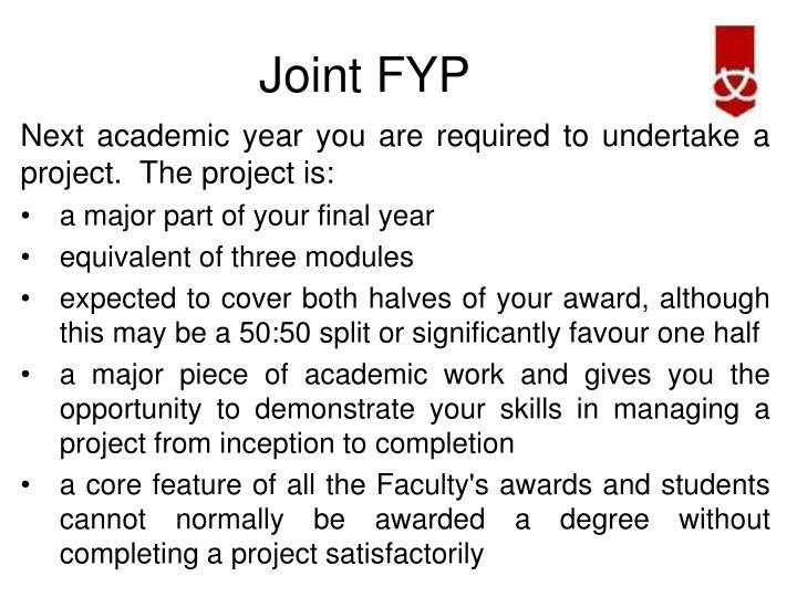 Joint fyp1