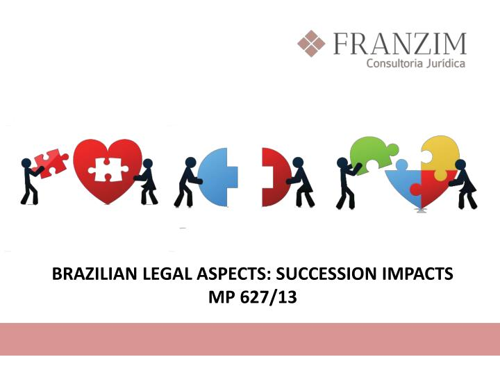 BRAZILIAN LEGAL ASPECTS: SUCCESSION IMPACTS