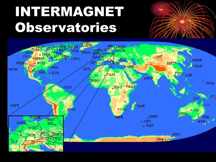 INTERMAGNET Observatories