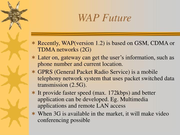 WAP Future