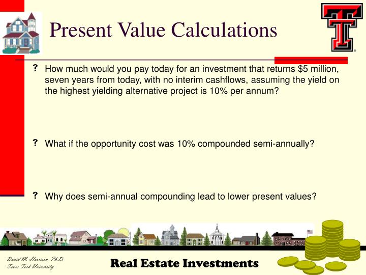 Present Value Calculations