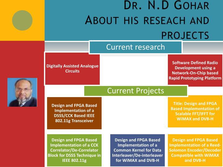 Dr. N.D
