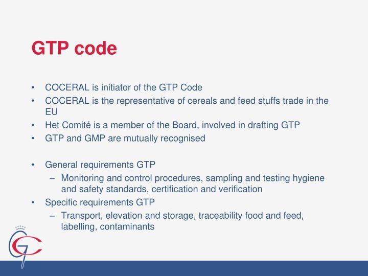 GTP code