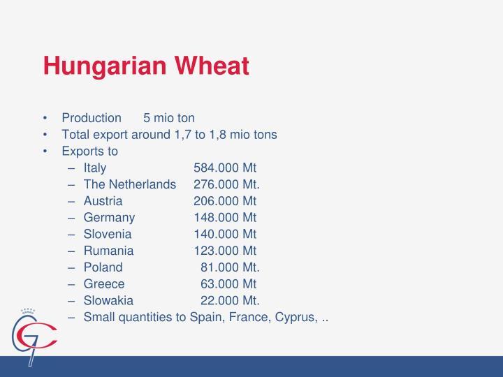 Hungarian Wheat