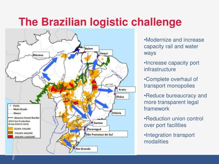 The Brazilian logistic challenge