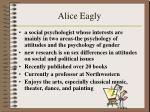 alice eagly