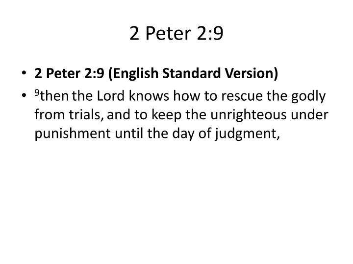 2 Peter 2:9