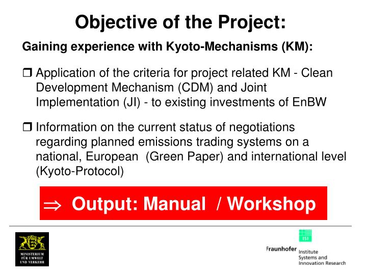 Objective of the Project: