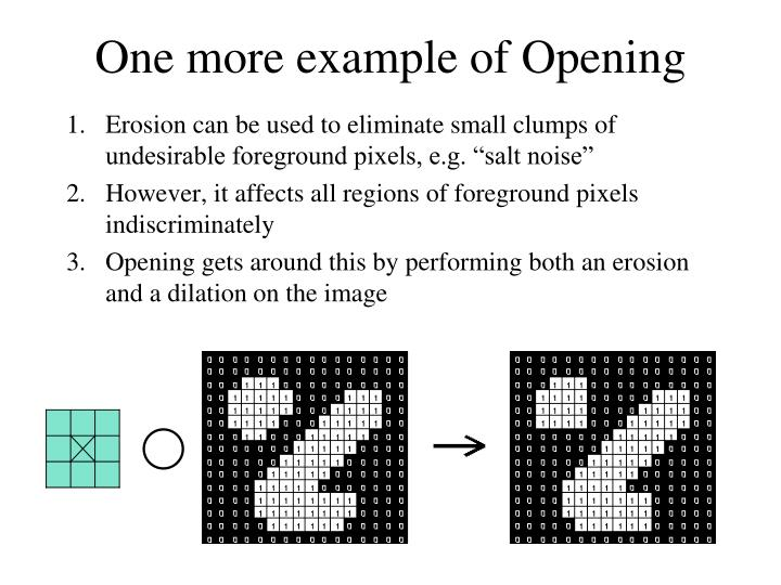 One more example of Opening