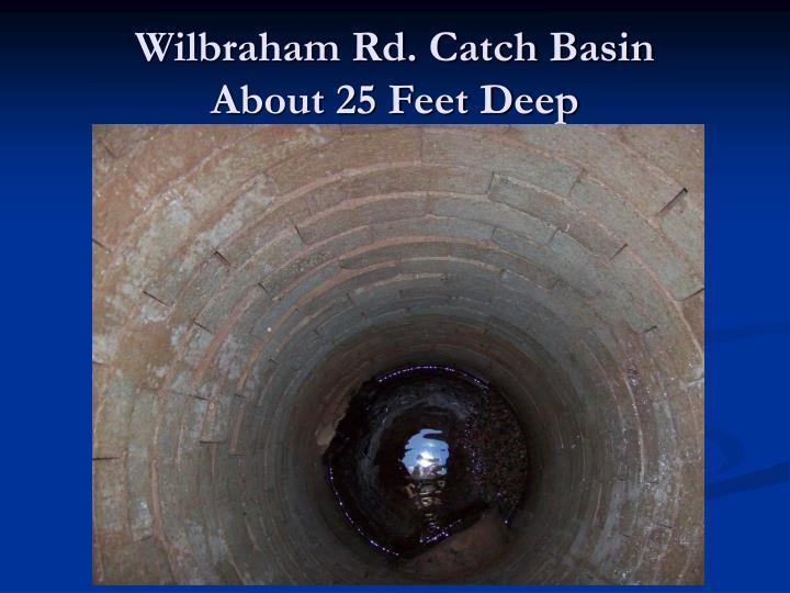 Wilbraham Rd. Catch Basin