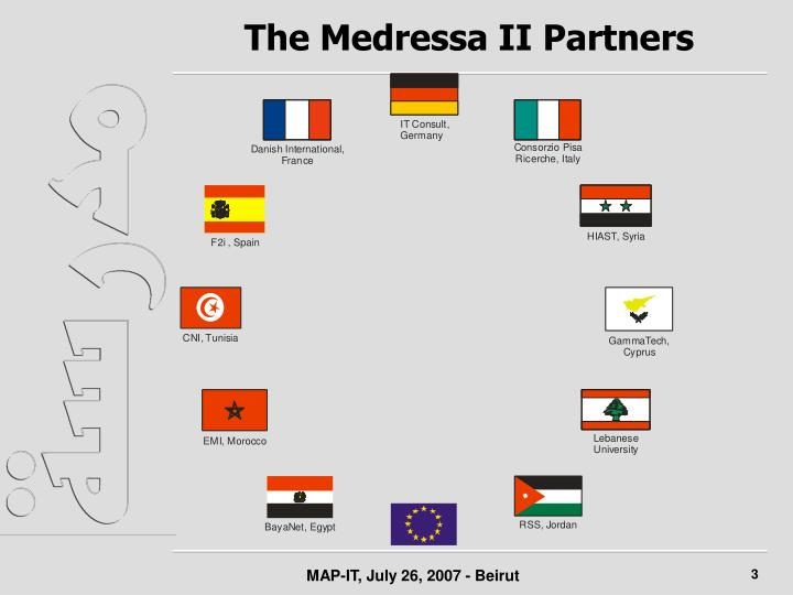 The medressa ii partners