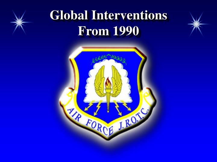 Global Interventions