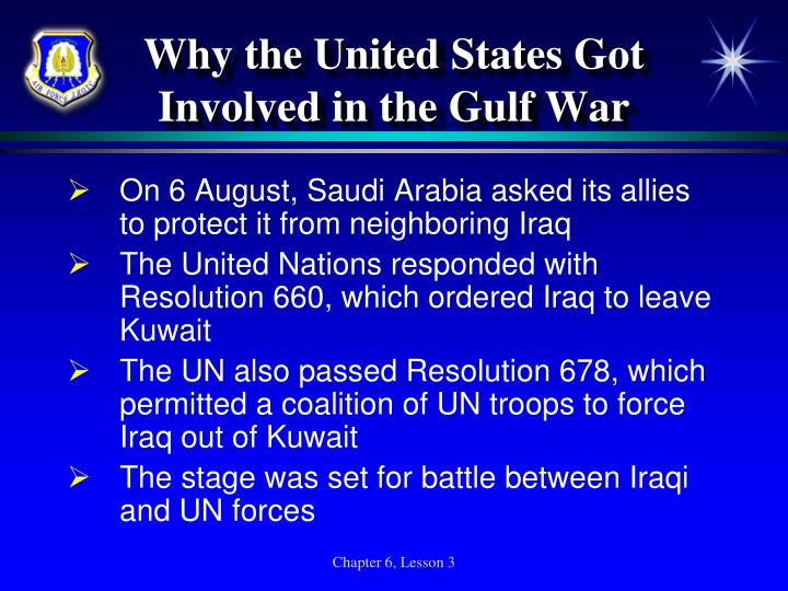 Why the United States Got