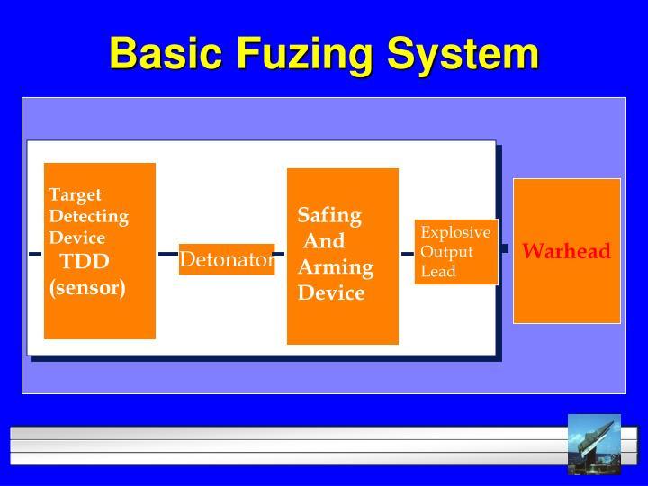 Basic Fuzing System