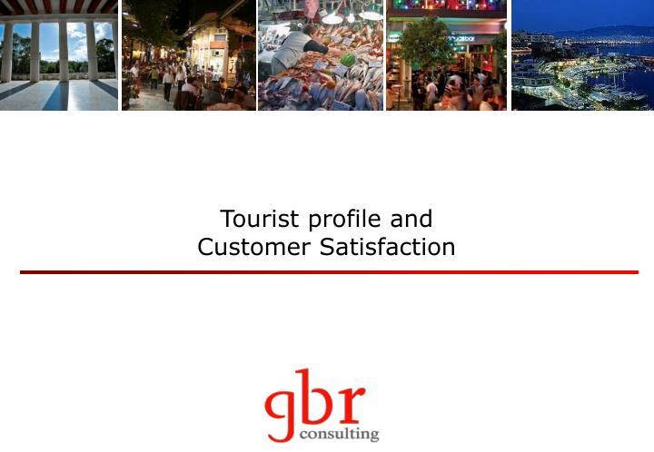 Tourist profile and