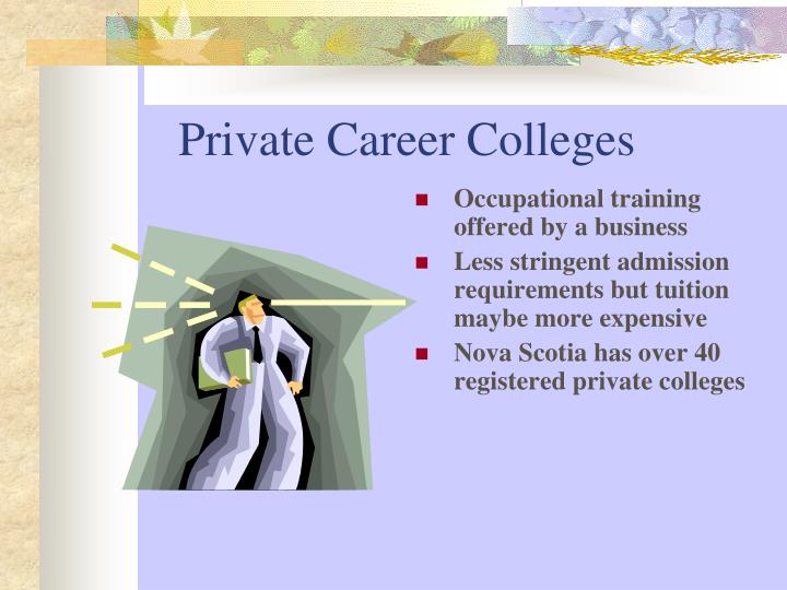 Private Career Colleges