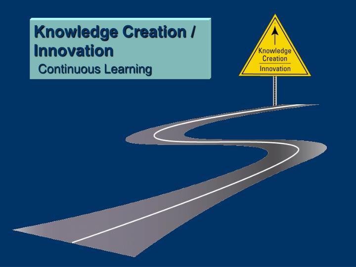 Knowledge Creation / Innovation
