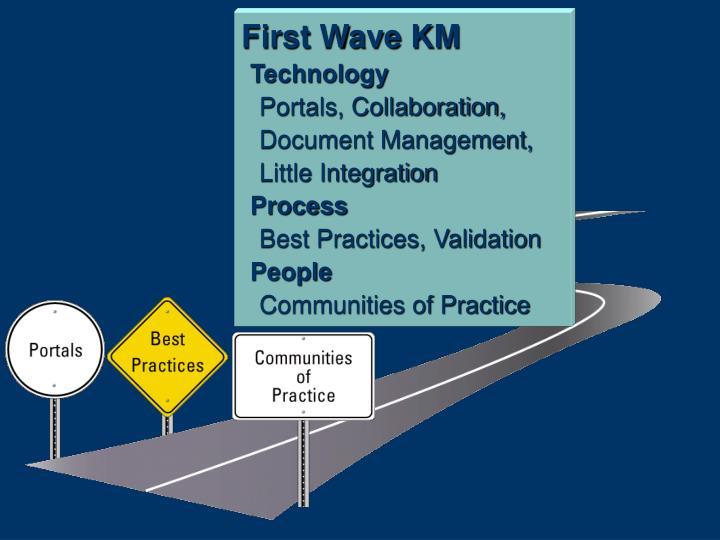 First Wave KM
