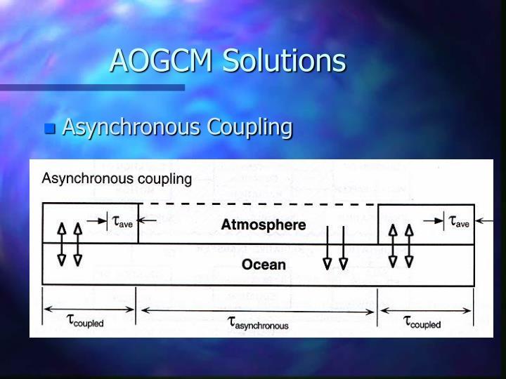 AOGCM Solutions