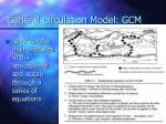 general circulation model gcm1