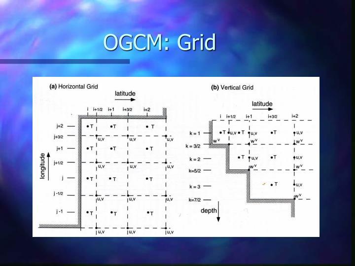 OGCM: Grid