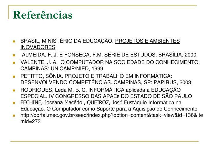 BRASIL, MINISTÉRIO DA EDUCAÇÃO.
