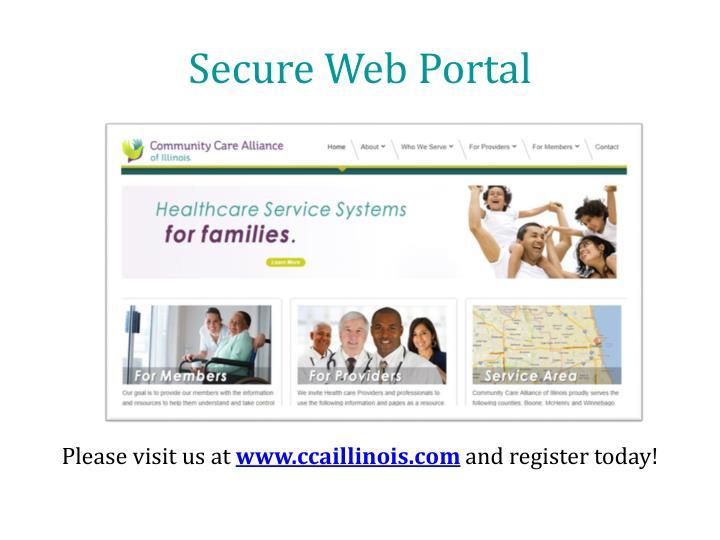 Secure Web Portal