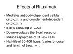 effects of rituximab