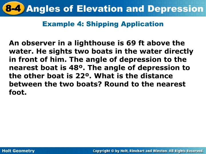 Example 4: Shipping Application