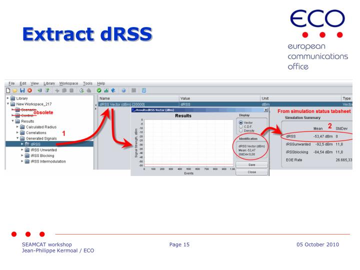 Extract dRSS