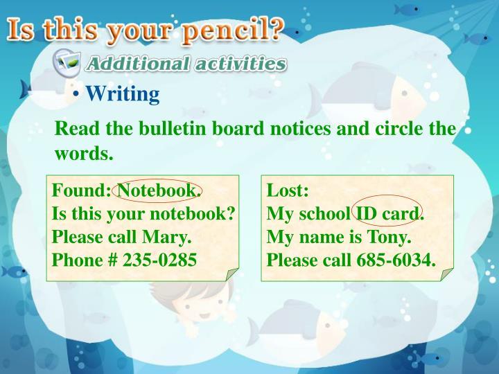 Found: Notebook.